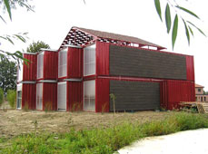 集装箱别墅: Red Container House Lille