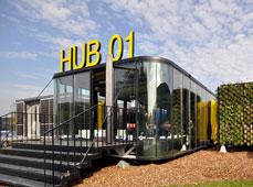 移动式、个性化的app试用赚钱软件排行榜学生宿舍:HUB 01