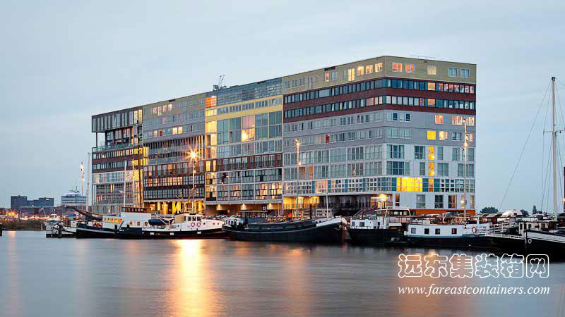 阿姆斯特丹Silodam集装箱公寓