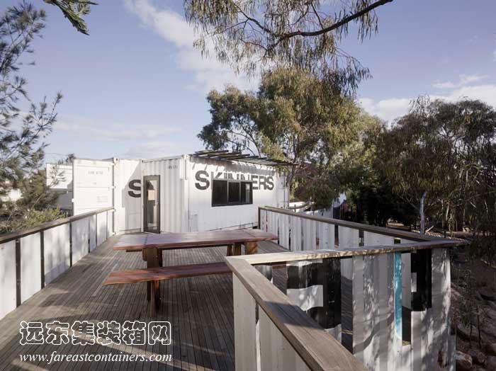 集装箱活动房屋创意设计:skinners儿童活动中心(2)