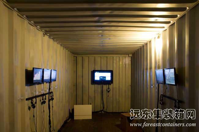 集装箱活动房屋创意设计:container