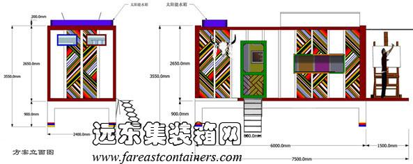 藏式房屋平面圖