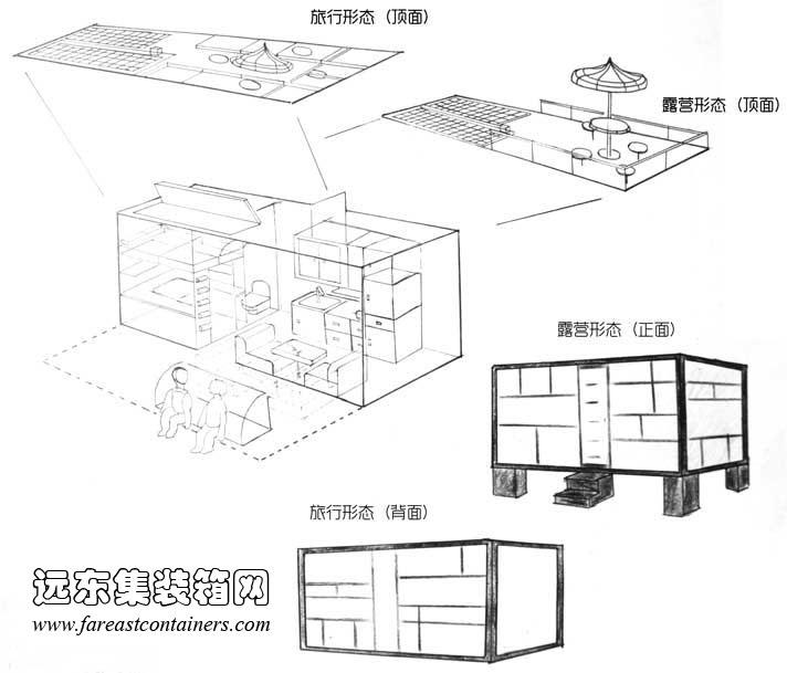 房屋透视图画法