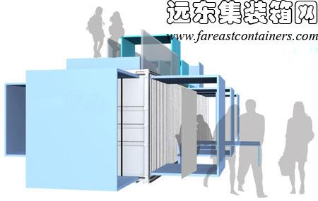 集装箱房屋内部装修 集装箱房屋室内设计