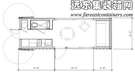 集装箱活动房屋创意建筑设计:sunset idea house(完)