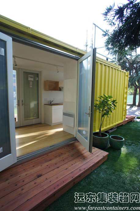 Sunset Idea House 的安装过程,集装箱活动房,住人集装箱 ...