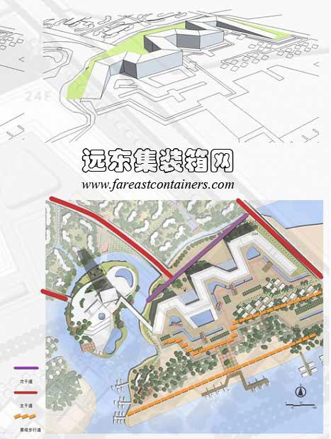 海南海口集装箱房屋式酒店建筑规划设计(2)