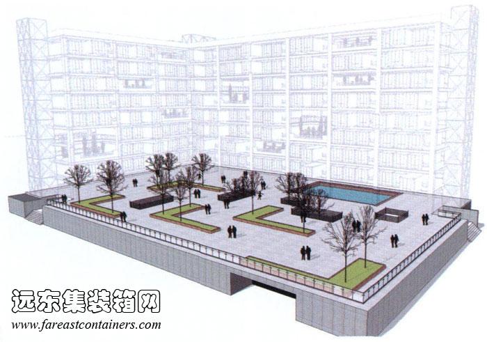 集装箱建筑式青年公寓设计研究(完)图片