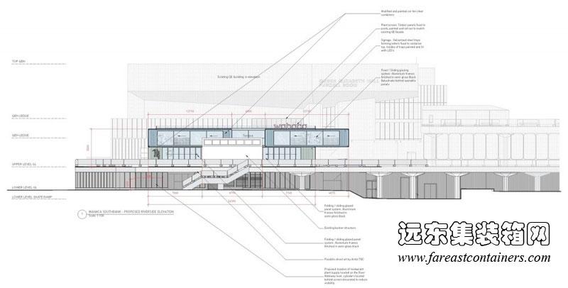 装箱餐厅立面设计图