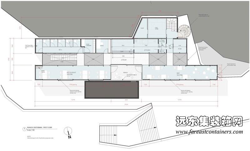 装箱餐厅平面设计图