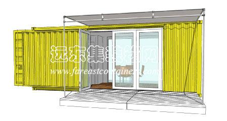 集装箱房屋设计案例: hybrid