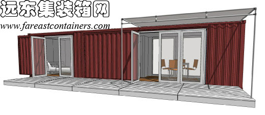 装箱房屋设计案例: hybrid