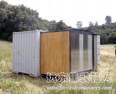 设计并建造的集装箱建筑