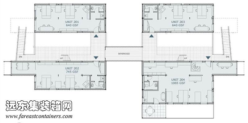 36平米小二层楼设计图