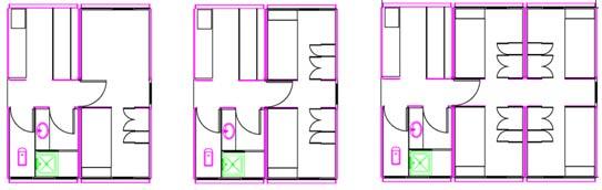 宿舍室内平面设计图