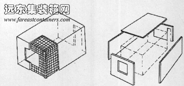 纸盒手工制作世界建筑