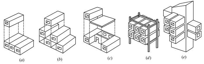 盒子构件与框架结构进行组装;
