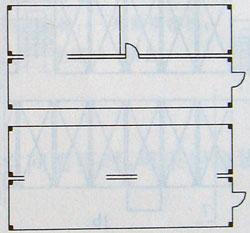 40英尺集装箱局部或断续连通组合箱模块