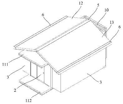 集装箱房子的结构图纸_集装箱房屋的一种构建方法(1)_远东集装箱网