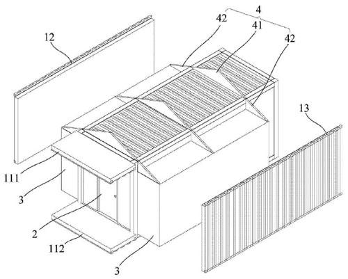 集装箱房子的结构图纸_集装箱房屋的一种构建方法(完)_远东集装箱网