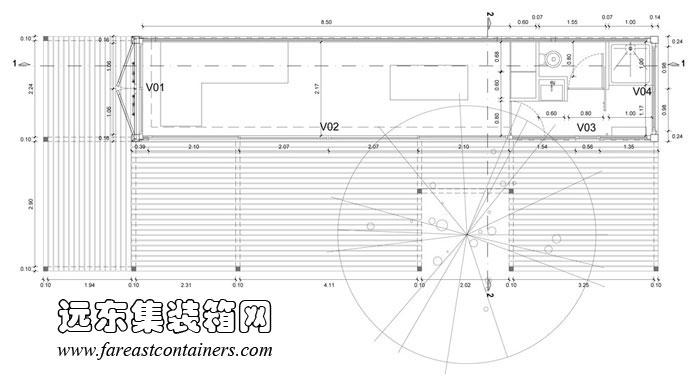 集装箱别墅平面设计图