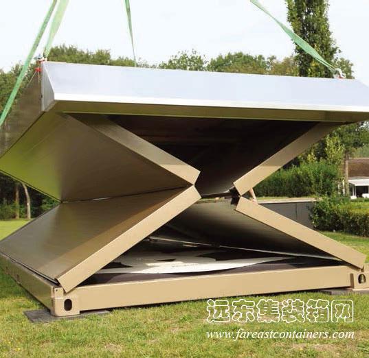 flexotels可折叠式集装箱酒店
