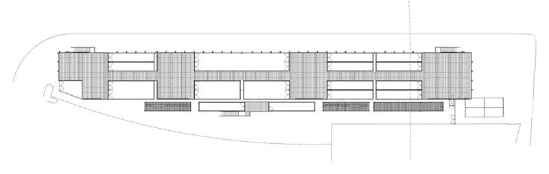 盒子公园集装箱购物中心二层平面图