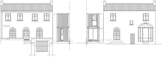 南斯集装箱住宅立面图