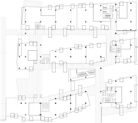 三里屯 平面图_集装箱建筑案例:SANLITUN SOUTH(三里屯南区)(2)_远东集装箱网