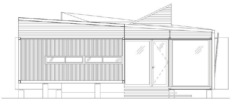 房屋集装箱内部平面图-集装箱建筑设计指南及30个案例研究 81