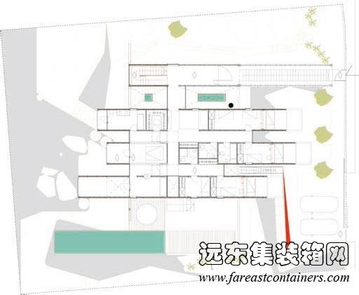 艺术家住宅 别墅设计平面布置图