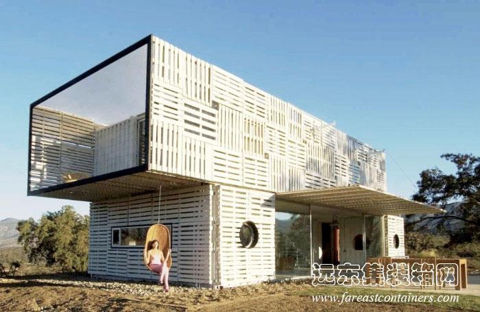 集装箱别墅设计:infiniski Manifesto House 1 远东集装箱网